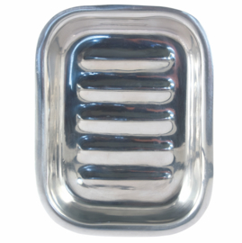 Tadé - soap dish, stainless steel