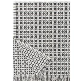 Lapuan Kankurit wollen deken Corona - grijs/zwart