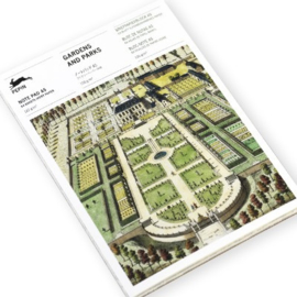 Pepin Press - note pad A5: Gardens and Parks