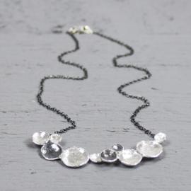 Jeh Jewels collier zilver met hanger zilver/oxy
