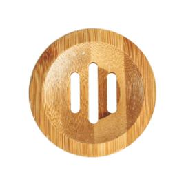 Shampoobar - zeepschaaltje bamboe