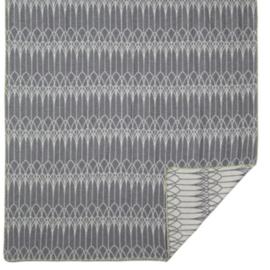 Lina Johansson katoenen deken Abbey, grijs