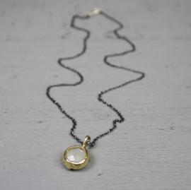 Jeh Jewels collier oxy/verguld/labradoriet