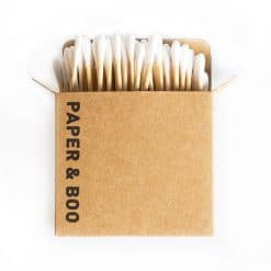 Paper & Boo Bamboo cotton swabs (100 pcs)