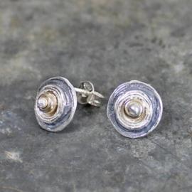Jeh Jewels oorstekers zilver/zilver verguld