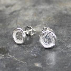 Jeh Jewels oorstekers zilver rond