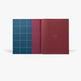 NOTEM UMA notebook - large, dark blue