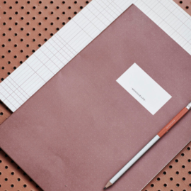 Monograph A4 set of 2 notebooks, lines & dots