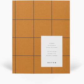 NOTEM UMA notebook - medium, ochre