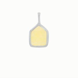 Flawed hanger Yellow, zilver