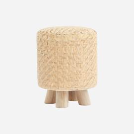 House Doctor stool/hocker weave, nature