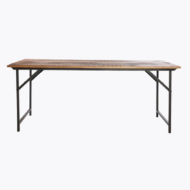 House Doctor dining table Party brown