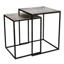 Pols potten side table set of 2  square