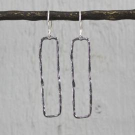 Jeh Jewels dangle earrings silver oxidized