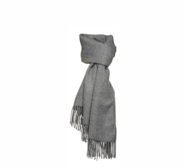 Silkeborg scarf Arequipa Large - medium grey