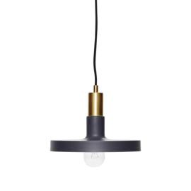 Hubsch hanglamp grijs