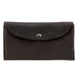 Philomijn wallet Brecht - robust darkbrown