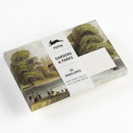 Pepin Press - enveloppe C6: Gardens & Parks