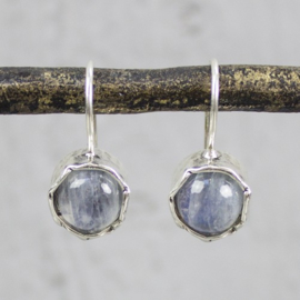 Jeh Jewels oorhangers zilver maansteen