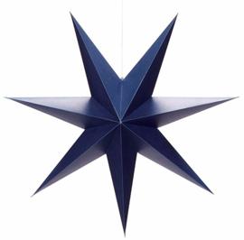 Kerst ster papier - blauw