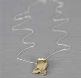 Jeh Jewels collier zilver met hanger zilver verguld