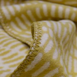 Lina Johansson Cotton Blanket Twist Yellow