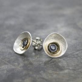 Jeh Jewels oorstekers zilver/verguld
