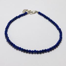 Cobalt + Corundum gemstone bracelet 18-22 cm (various options)