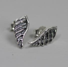 Jeh Jewels oorstekers zilver oxy vleugeltjes