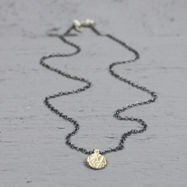 Jeh Jewels collier zilver oxy/verguld