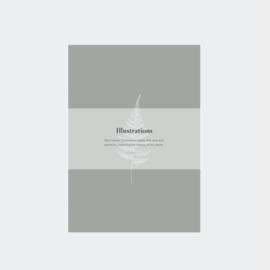 Inkylines postcard set, Illustrations Botanical