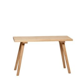 Hubsch bench, oak