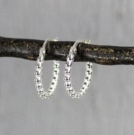 Jeh Jewels creool zilver