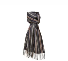 Silkeborg sjaal Buenos Aires - furrow grey