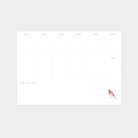 Inkylines weekplanner