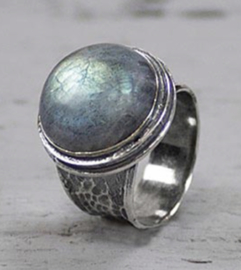 Jeh Jewels ring zilver met labradoriet