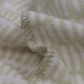 Lina Johansson katoenen deken Twist, ecru