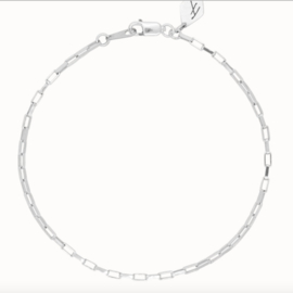 Flawed - zinnia armband zilver