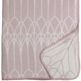 Lina Johansson katoenen deken Abbey, roze