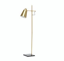 Hubsch floor lamp, brass