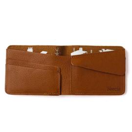 Keecie Small Fortune wallet - Cognac