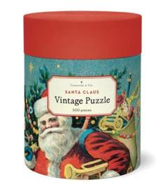 Cavallini & Co. Puzzle Santa Claus - 500 pieces