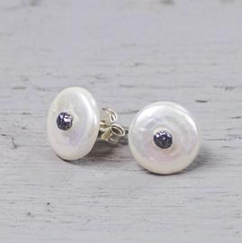 Jeh Jewels ear studs freshwater pearls