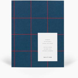 NOTEM UMA notebook - medium, dark blue