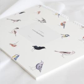 Inkylines verjaardagskalender vogels