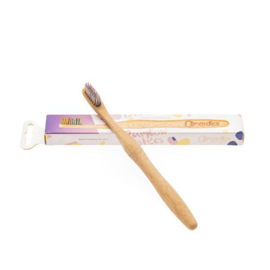 Nordics tandenborstel volwassene bamboo BPA FREE (diverse kleuren)