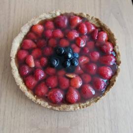 Zomerse vruchtentaart