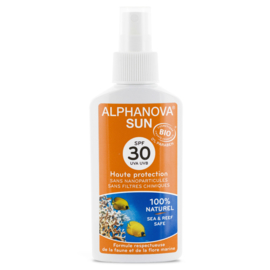 ALPHANOVA SUN BIO  SPF 30 SPRAY - 125G