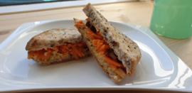 Groenten club Sandwich