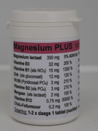 Kiwi farm - Magnesium plus 100 tabletten